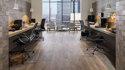 Mẫu sàn gỗ văn phòng công ty, phòng làm việc đẹp DC176