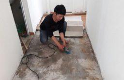 Hỏi thợ sửa chữa sàn gỗ cho phòng bếp?