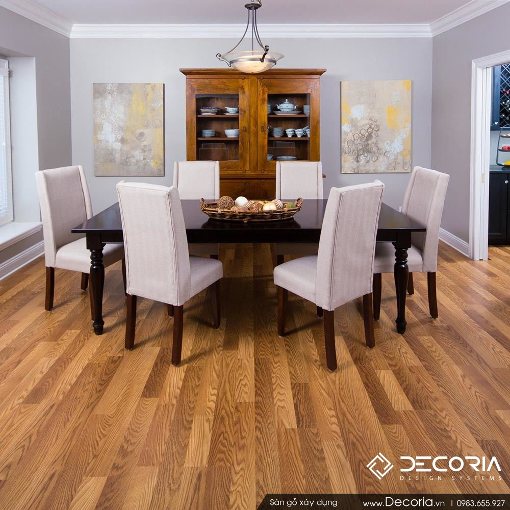 Báo giá thi công sàn gỗ năm 2017