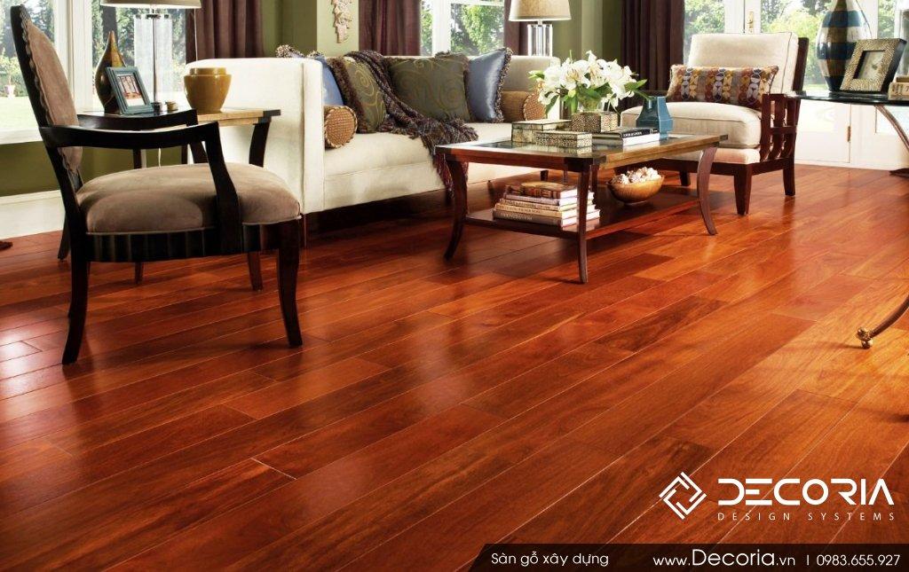 Sàn gỗ màu Cánh gián