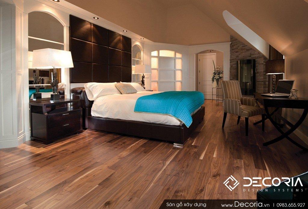 Mẫu phòng ngủ lát sàn gỗ đẹp