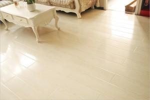 Mẫu sàn gỗ công nghiệp màu trắng