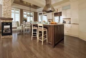 Mẫu sàn gỗ tự nhiên màu hạt dẻ