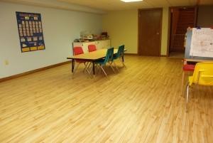 Mẫu sàn gỗ tự nhiên màu vàng xoan đào