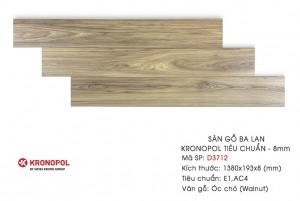 Sàn gỗ Kronopol mẫu D3712