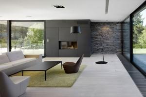 Mẫu sàn gỗ văn phòng màu trắng