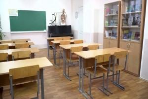 Mẫu sàn gỗ lớp học màu nâu