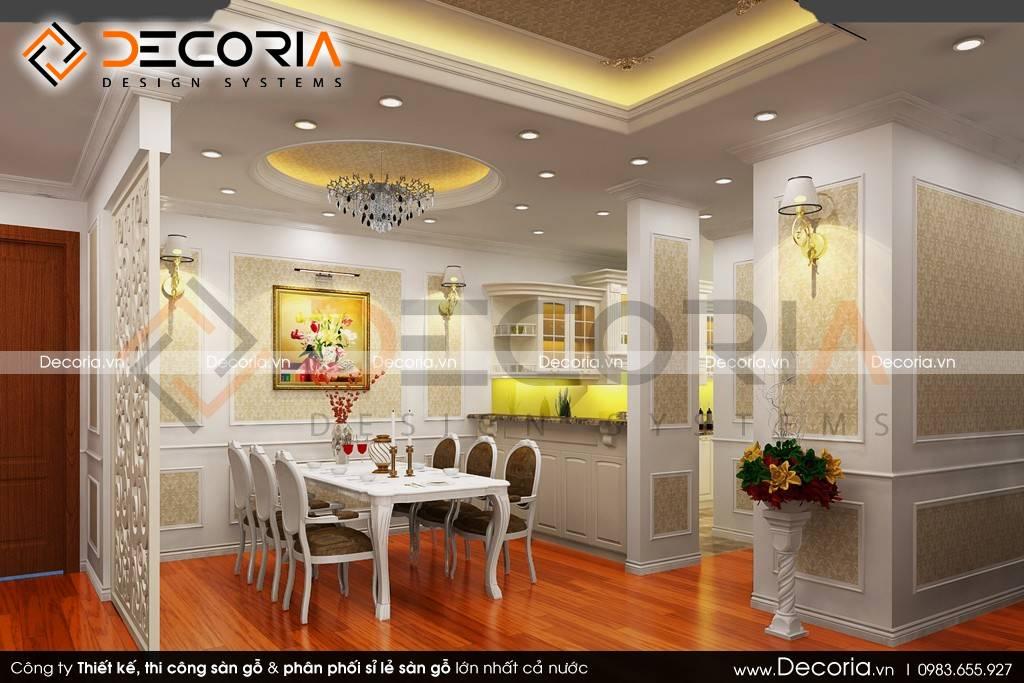 Mẫu thiết kế sàn gỗ công nghiệp giá rẻ chung cư