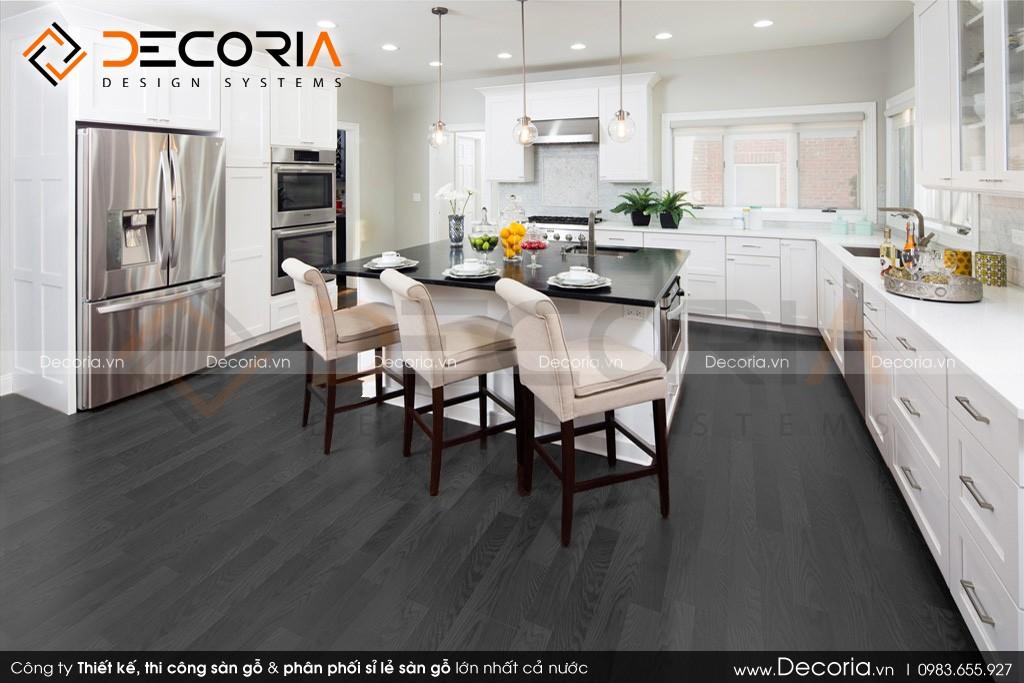 Phong thủy màu sắc sàn gỗ nội thất phòng